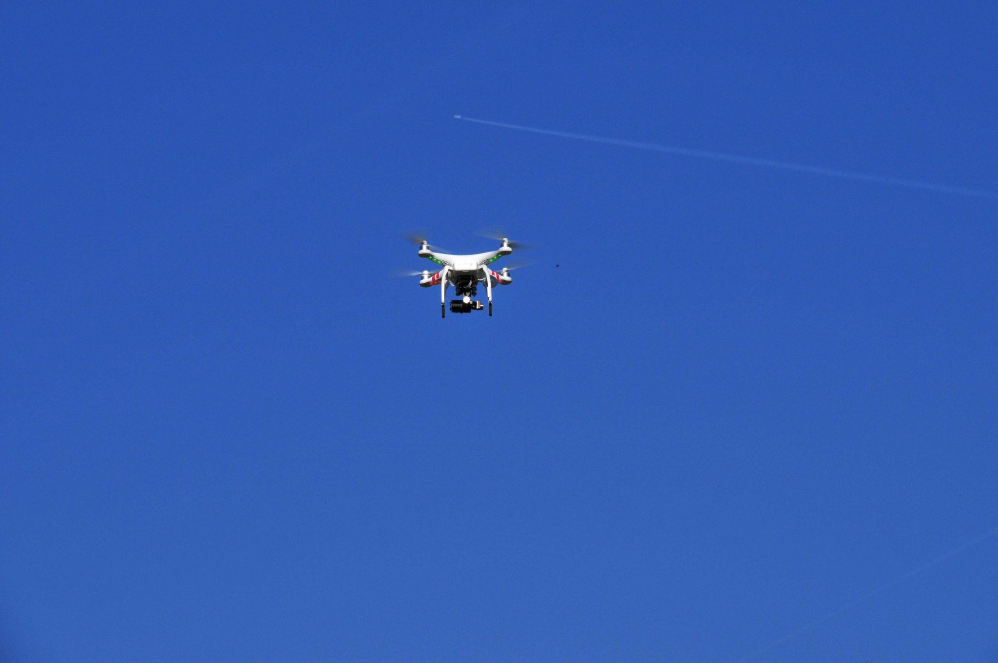 Drohne für Filmaufnahmen