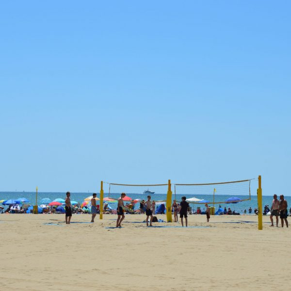 Beachvolley ball Italien_MarinadiVenezia_Strand
