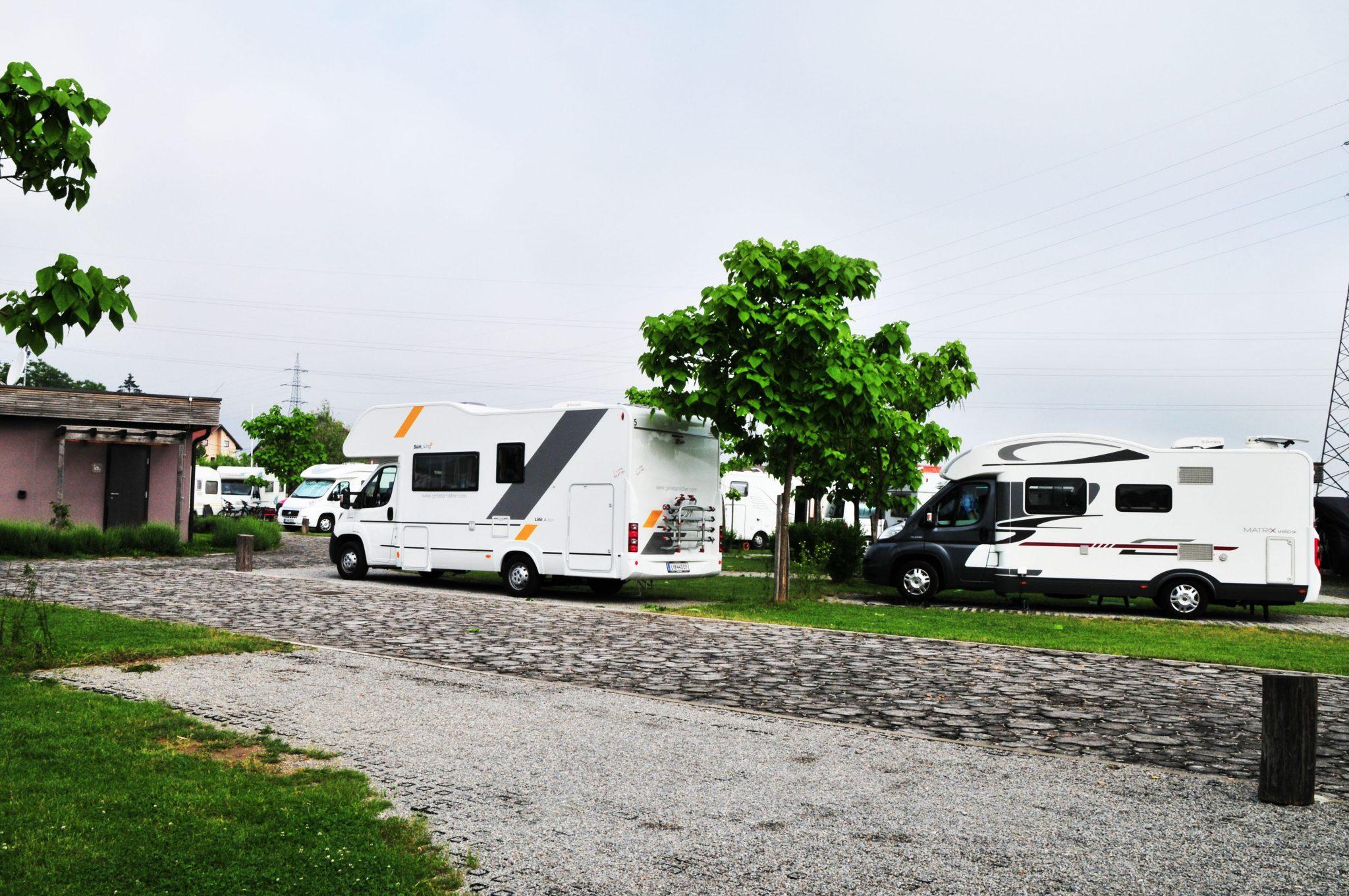 Camping Zagreb Gebetsroither Wohnmobil Kundenfahrt