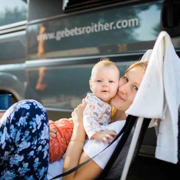 Familie Morawetz unterwegs mit dem Campingbus ADRIA Twin