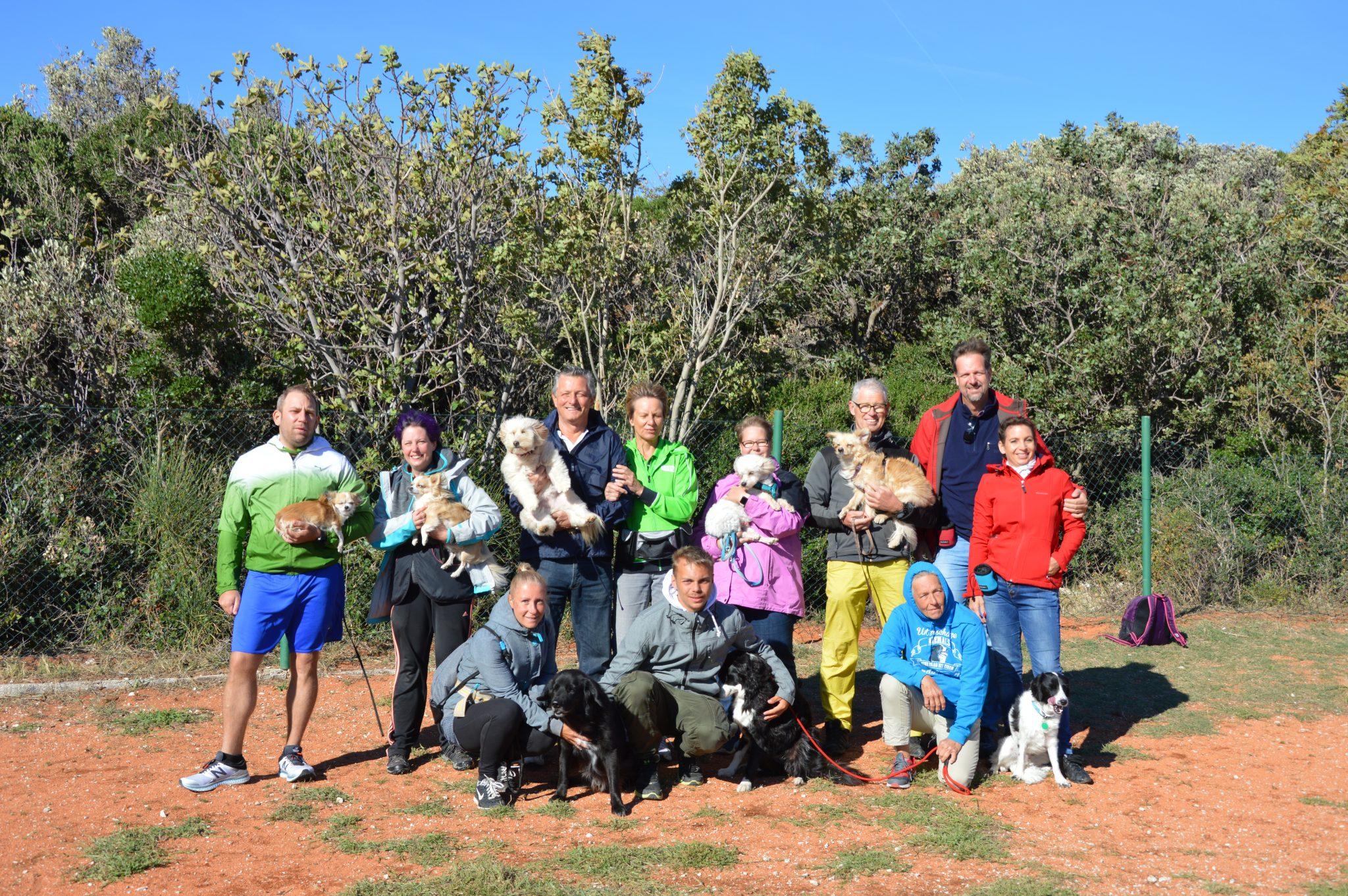 Hundetrainingswoche 2018 auf Camping Slatina