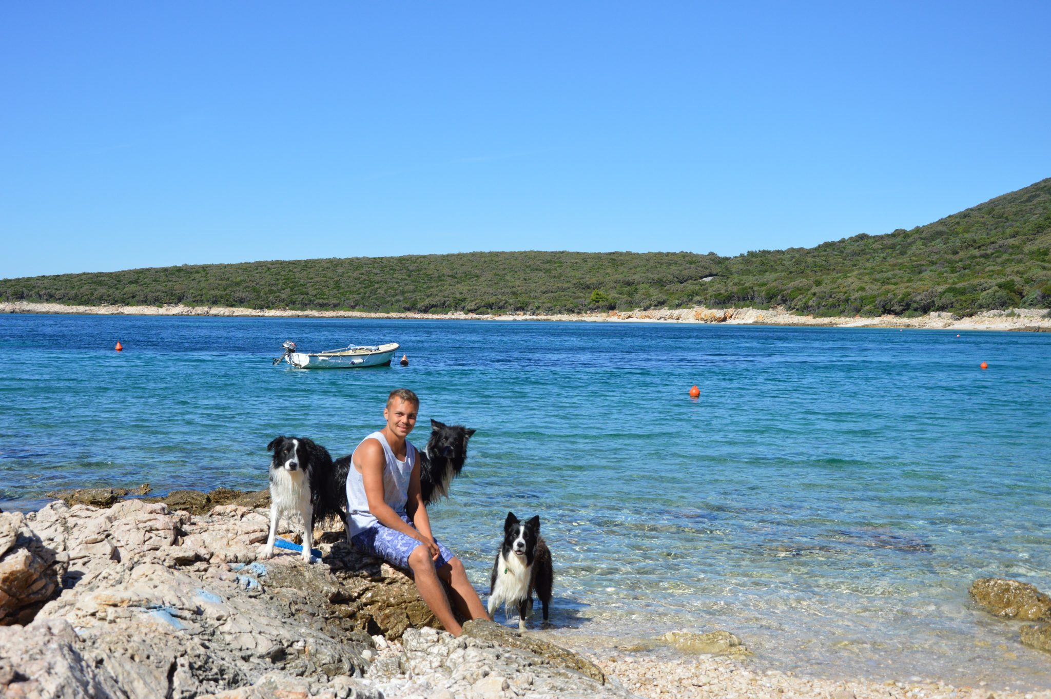 Lukas Pratschker Hunde CampSlatina