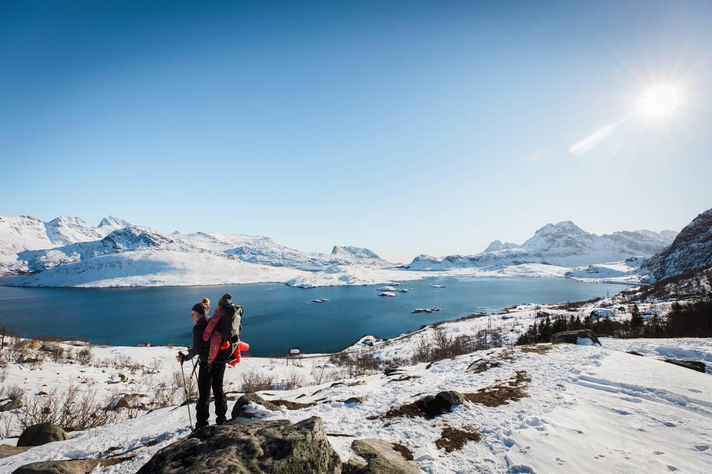 Outdoor Aktivitäten in Schnee und Eis.
