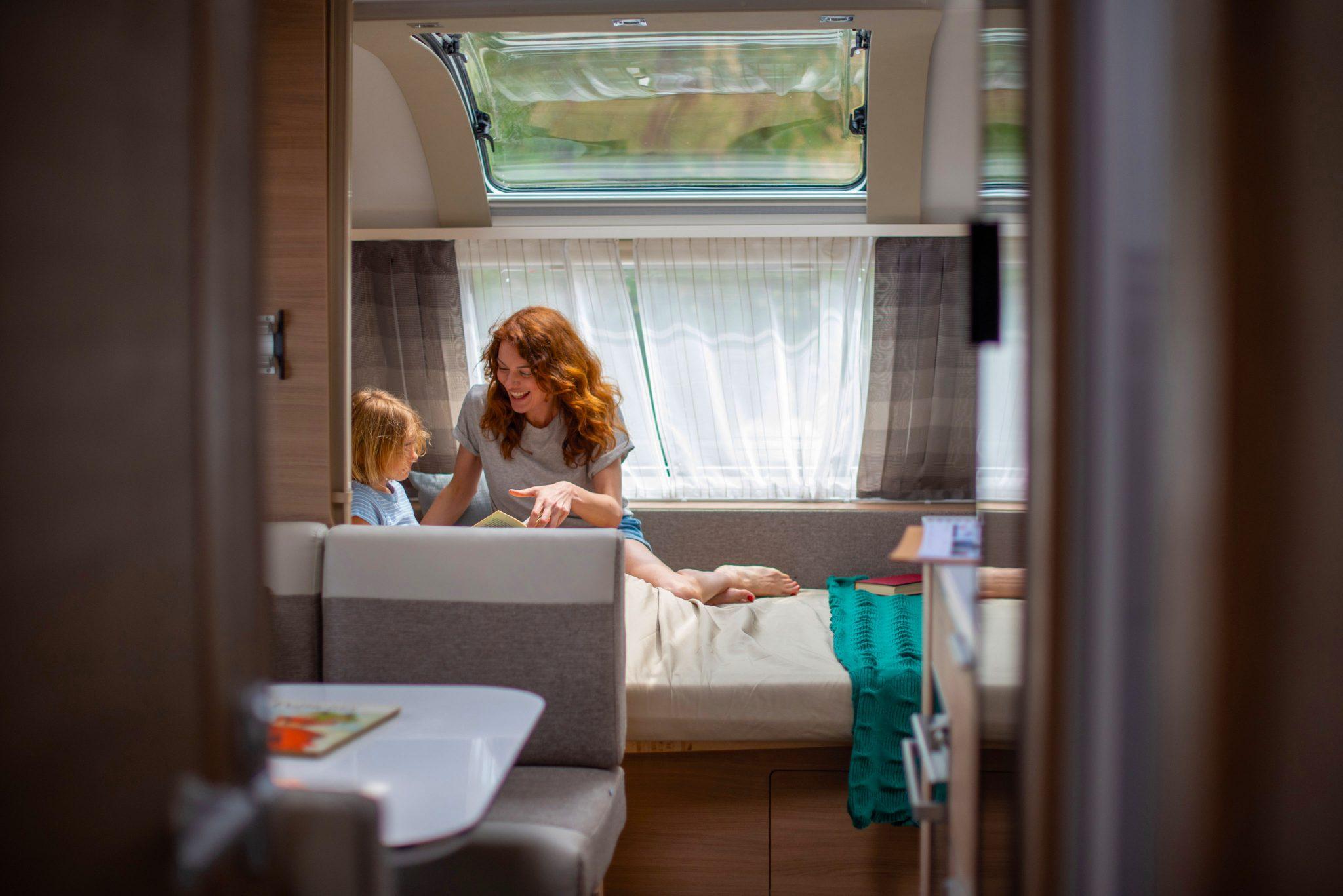 Wohnwagen von Adria Gemütlichkeit für die Familie