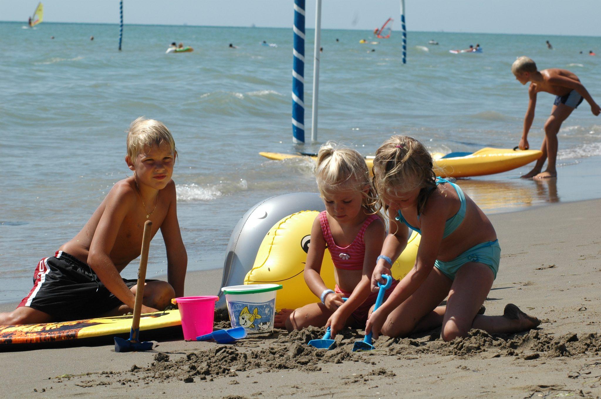 Strand bei Camping Union Lido