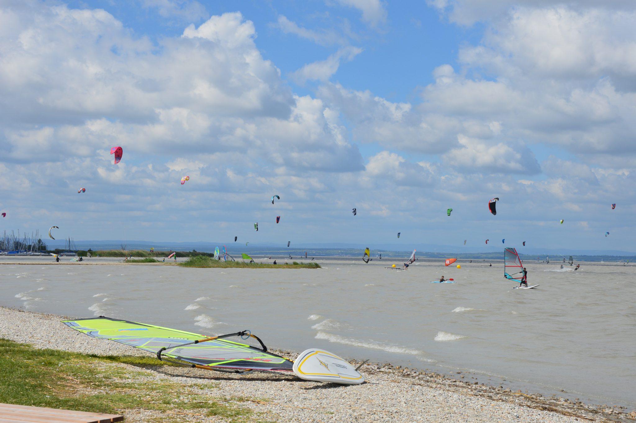 podersdorf am Neusiedlersee Kiten Surfen