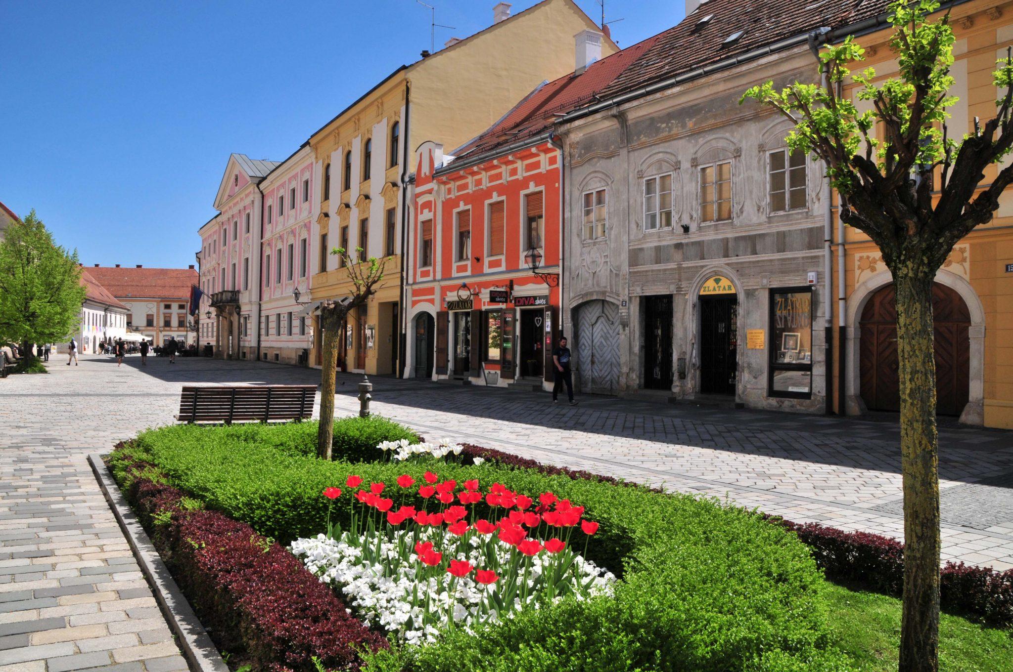 Sehr schön erhaltene Altstadt Gebäude in Varazdin