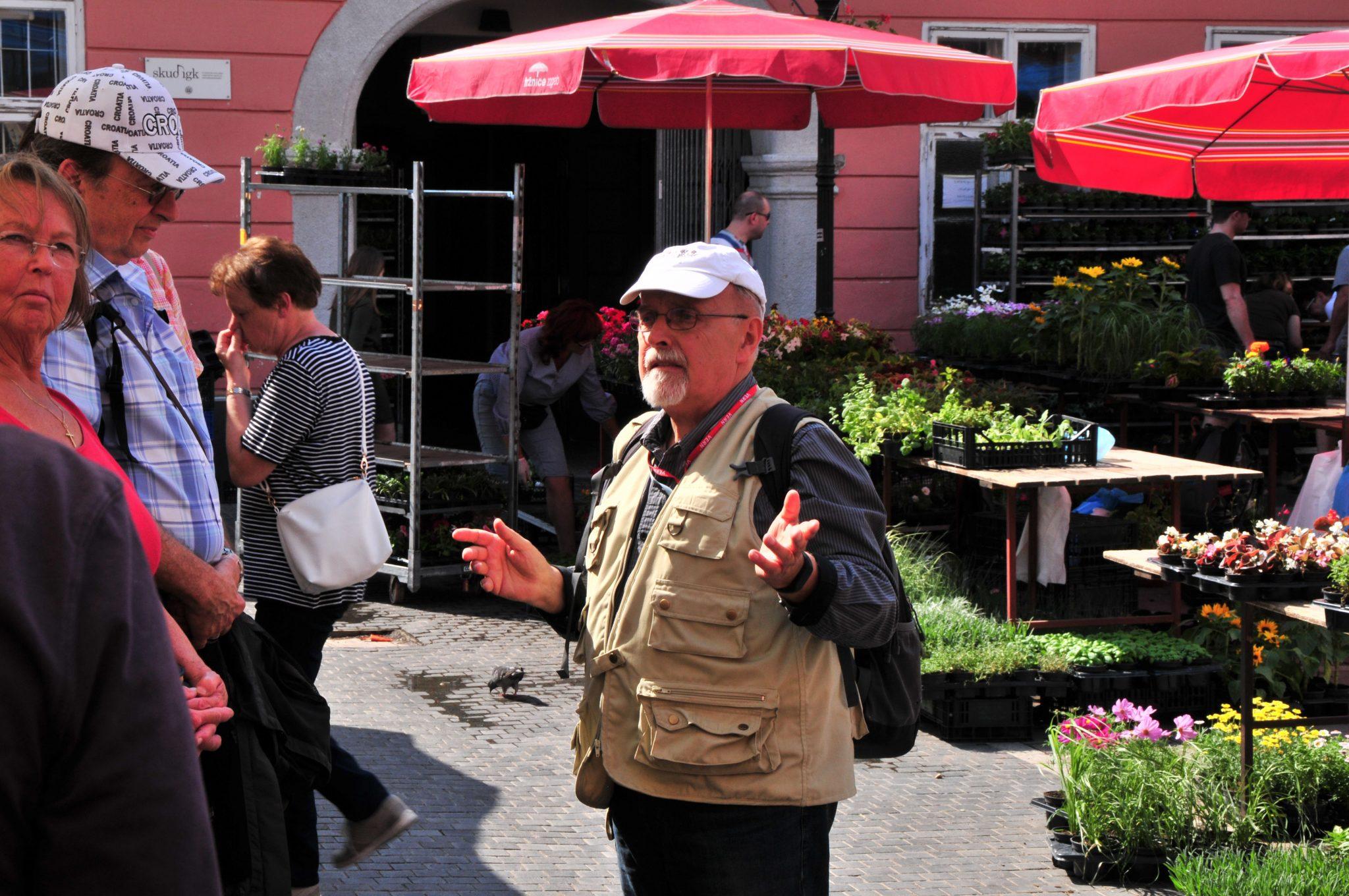 Führung mit Reiseleiter durch die Altstadt Zagreb