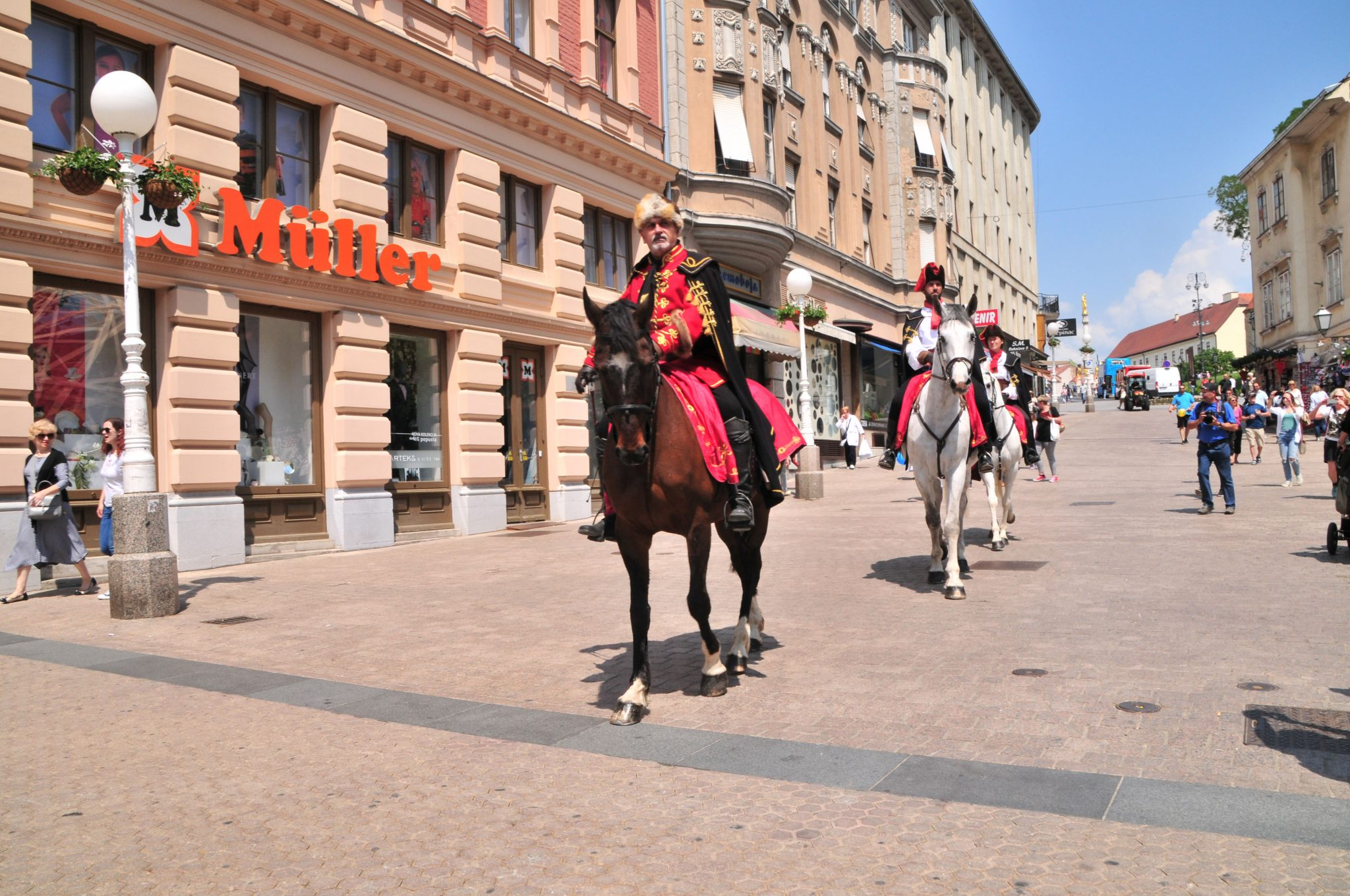 traditonelles Fest in Zagreb