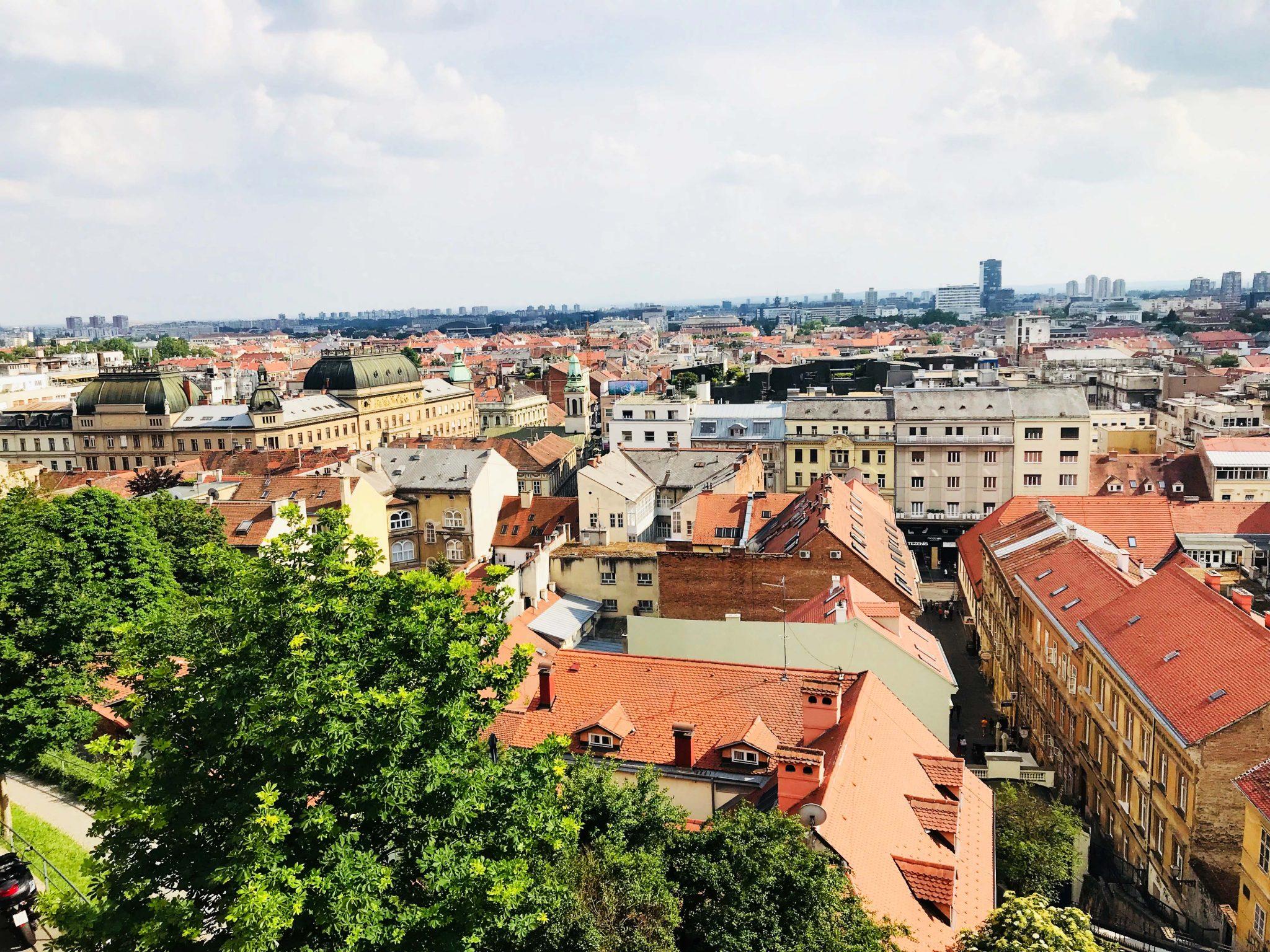 Zagreb von oben