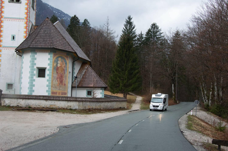Mit dem Wohnmobil in Slowenien unterwegs.