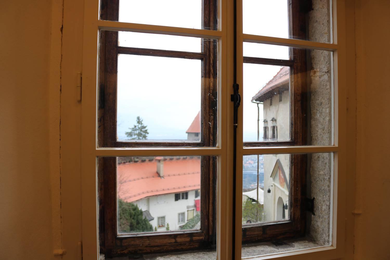 Die Burg von Bled.