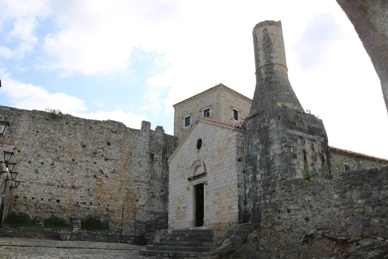 Burgkapelle von Ulcinj.