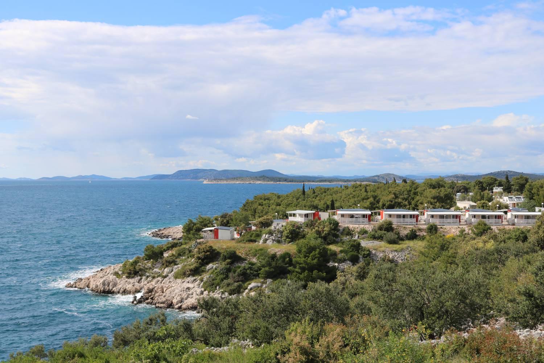Wunderschöne Lage über dem kroatischen Meer.