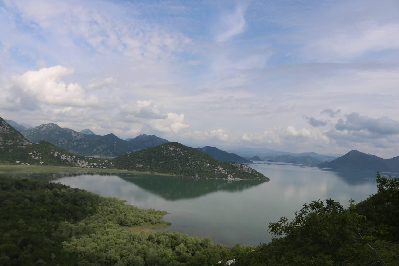 Rund zwei Drittel des Skutarisees liegen in Montenegro.