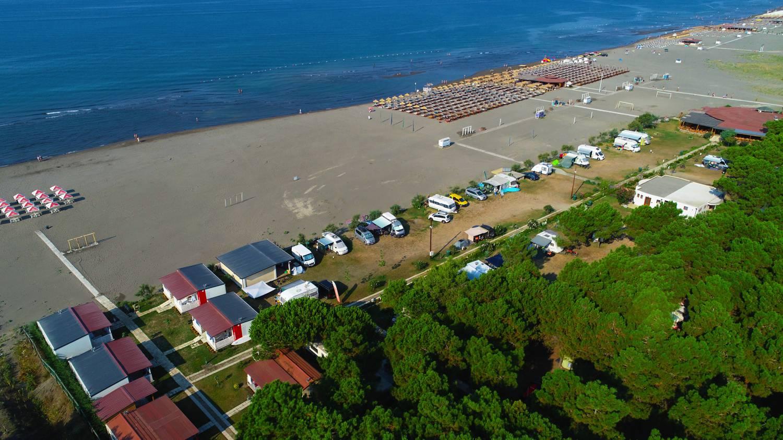In Ulcinj ist der längste und breiteste Sandstrand Montenegros.