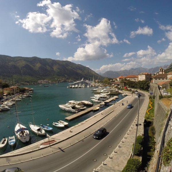 Hafen von Kotor.