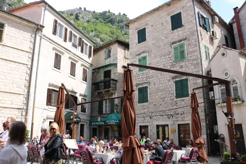 Die historische Innenstadt von Kotor ist sehr touristisch.