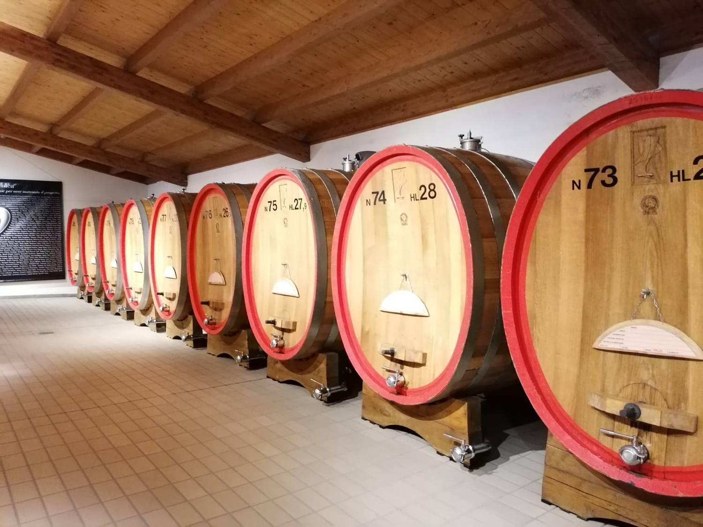 Mit Liebe zur Region hergestellte Weine.