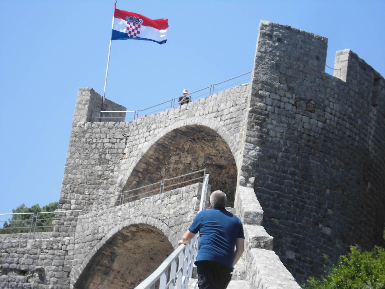 Die ehemalige Festung.