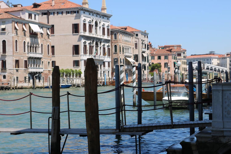 Der größte Wasserweg in Venedig.