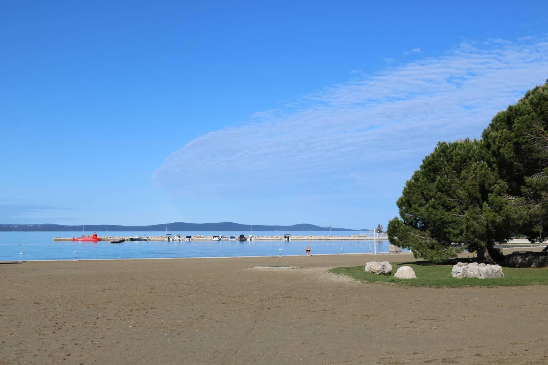 Wunderschöne Bucht an der dalmatischen Küste