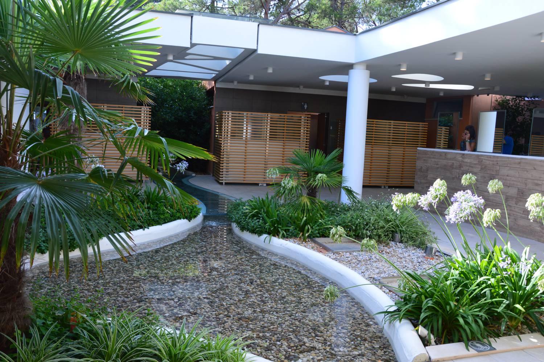Schön angelegt und sehr modern ist die Infrastruktur im Zaton Holiday Resort
