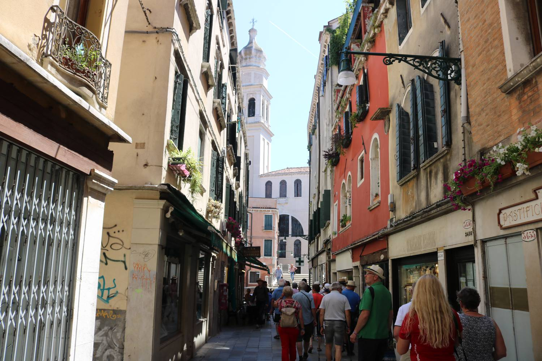Quer durch Venedig.