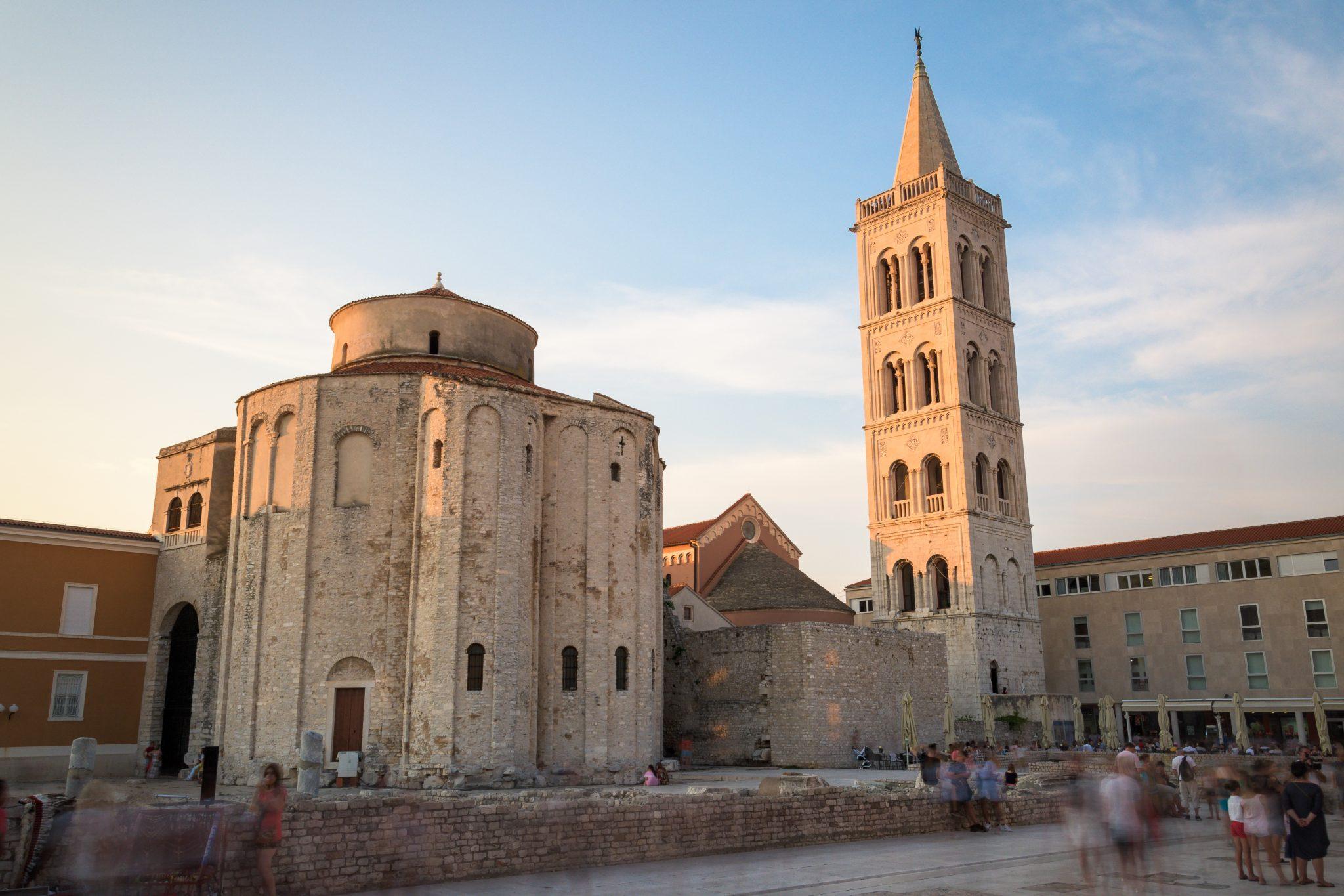 Die schöne Kirche von Zadar