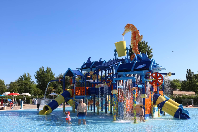 Das Wasser-Paradies für alle Kinder.