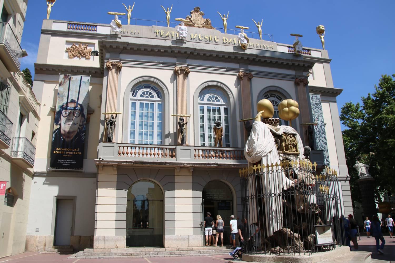 Kunst und Kreativität im Museum von Salvador Dali.