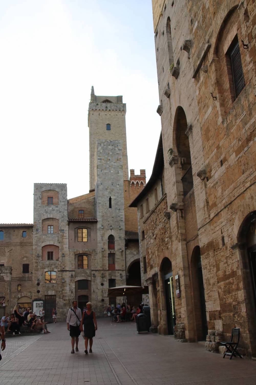Ein Bummel durch San Gimignano.