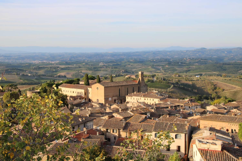 Blick von der Festung La Rocca.