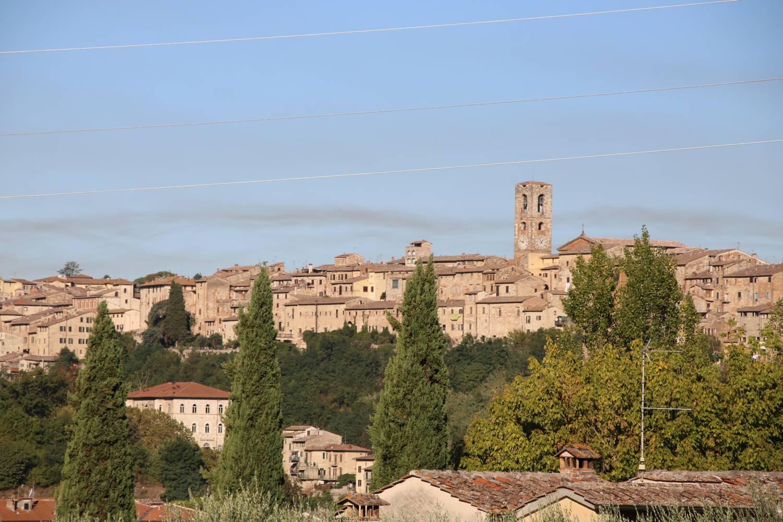 Stadtpanorama von Solle Val d'Elsa