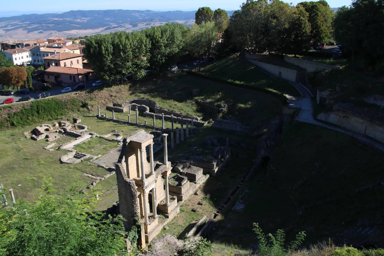 Grundmauern aus der Römerzeit.